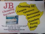 JB Cleaning and Home Maintenance Services flyer/ pamphlet