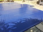 PVC Reinforced Safety pool cover with aluminium poles