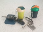 Use the Eco Mini-Bin as a Keyring